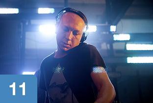 dj marco carola Top DJs of 2011 según Resident Advisor