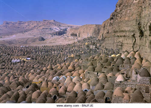 egypt near minya city zawiyat al amwat city of death graves tombs bnjfje