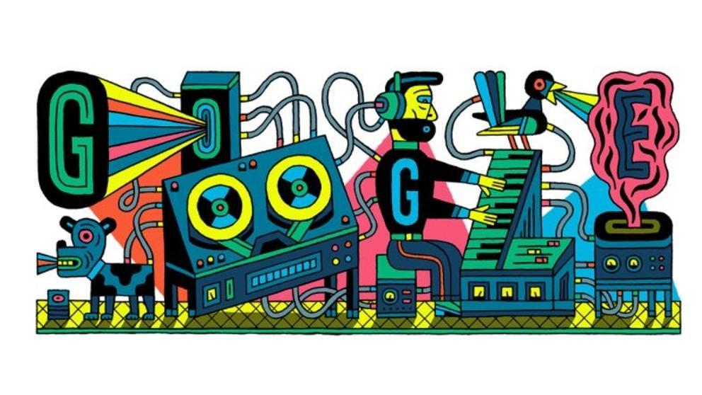 Google celebra los 66 años del primer estudio para música electrónica.