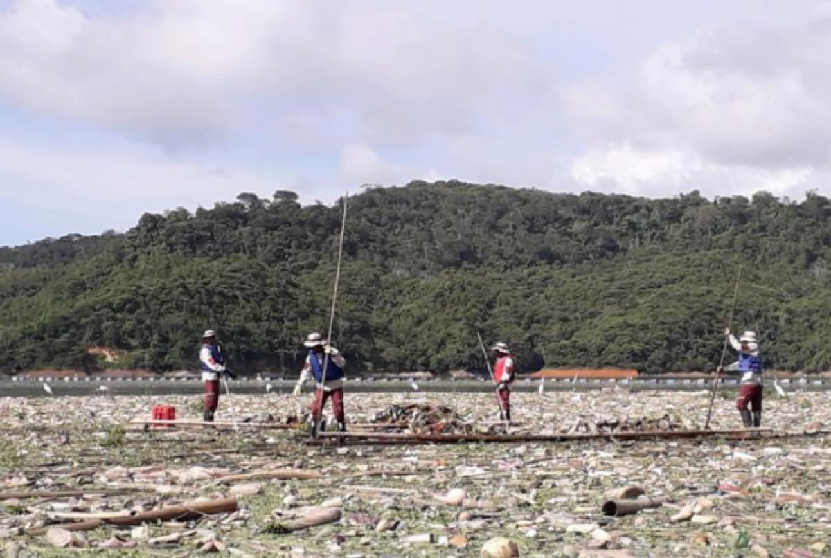 Embalses de Antioquia gravemente contaminados con plástico