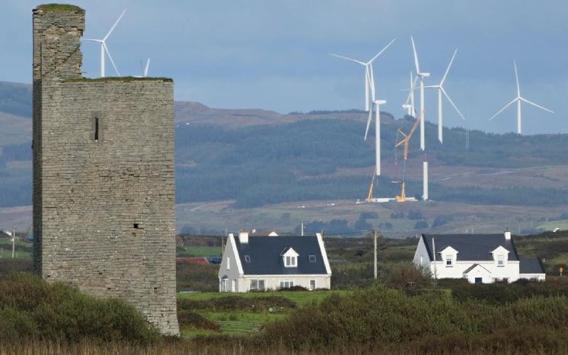 Escocia generó el doble de la energía que necesita sólo con viento