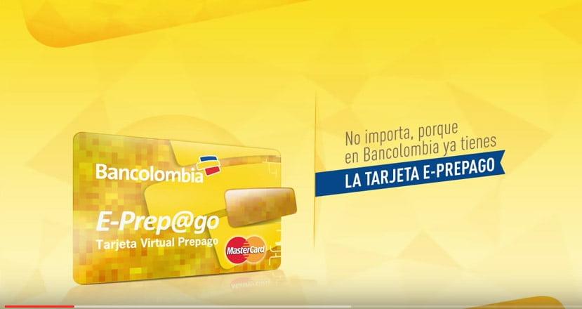 Masterdcard E-prepago: Cómo tener Tarjeta de Crédito Virtual con su cuenta Débito ( Bancolombia )