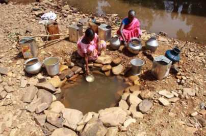 escasez de agua
