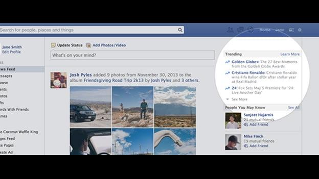 Facebook pronto con 'Trending Topics' cómo Twitter