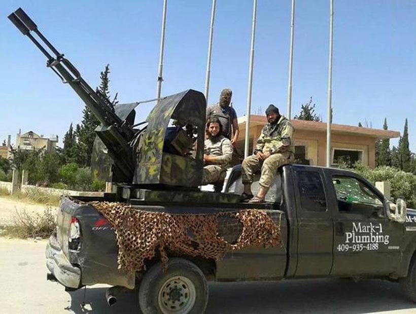 La camioneta de un Plomero en USA que termino en manos de ISIS