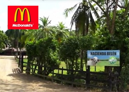 Las fincas de Mc Donald's en Colombia