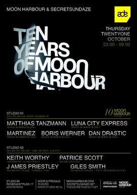 Mp3: Martinez - Live @ Studio80 [Ten Years Of Moon Harbour - ADE] (Amsterdam,NL) • 21 Oct 2010