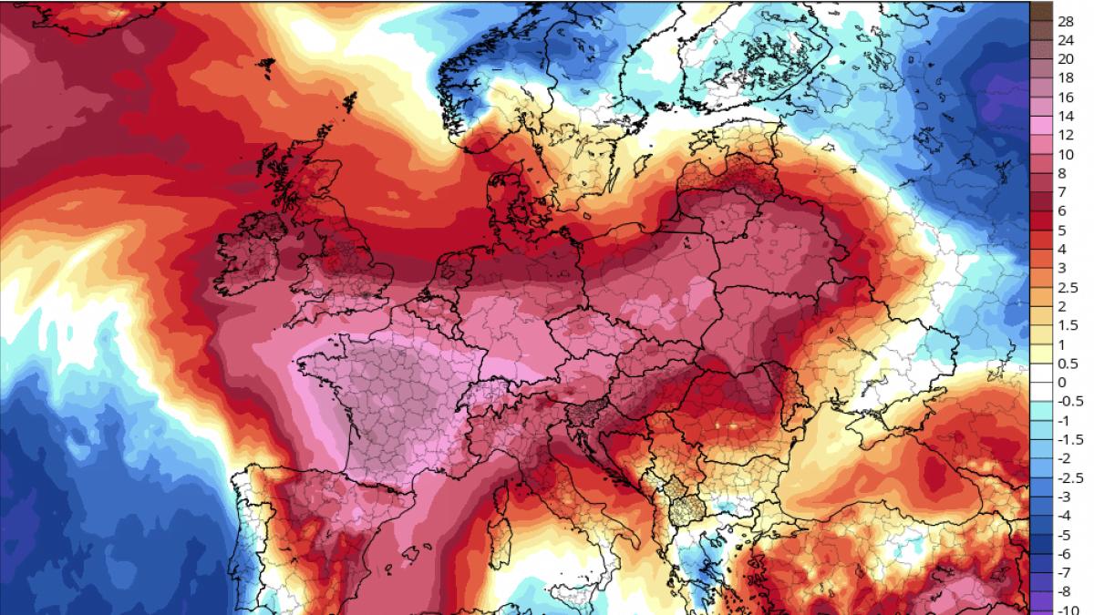 Francia rompe su record en temperaturas altas jamás registradas
