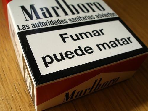 fumar mata texto cajetilla tabaco11