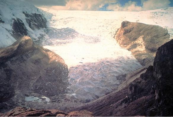1600 años de hielo glaciar derretido en 25 en los Andes, Urgente!