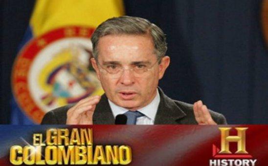 La relación de Alvaro Uribe con History Channel