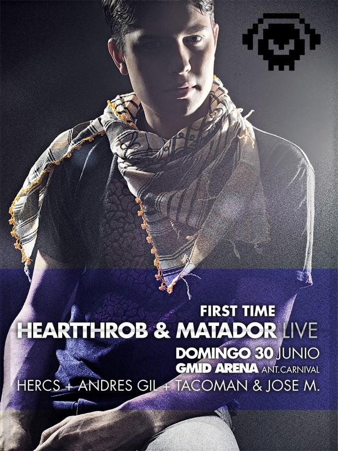 :: Biografía :: Heartthrob + Mp3 :: Artista MINUS en el We Are Robots 2013 ::