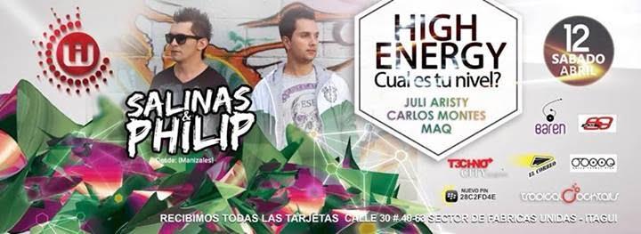 :: Sponsored :: Este Sábado Wild Club Presenta High Energy