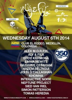 :: Sponsored :: Future Sound Of Egypt 350 en Club el Rodeo