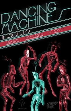 :: Sponsored :: Hoy Viernes en Mansion Club Dancing Machines