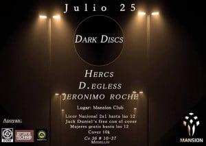 :: Sponsored :: Hoy Viernes en Mansion Club Dark Discs