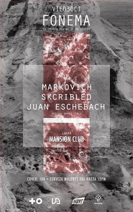 :: Sponsored :: Hoy Viernes en Mansion Club Fonema