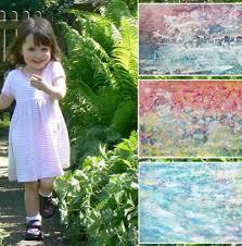 Iris Grace Halmshaw: Niña autista de 3 años vende sus pinturas por miles de dolares