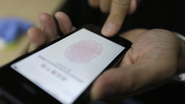 iphone 5s huella escaner lector
