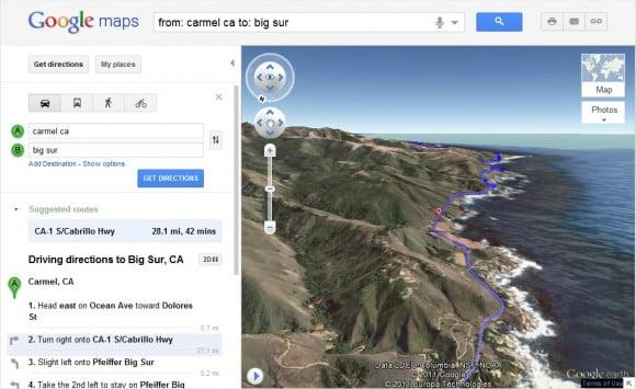 """Google Maps añade la """"Helicopter View"""" para guiado en 3D"""