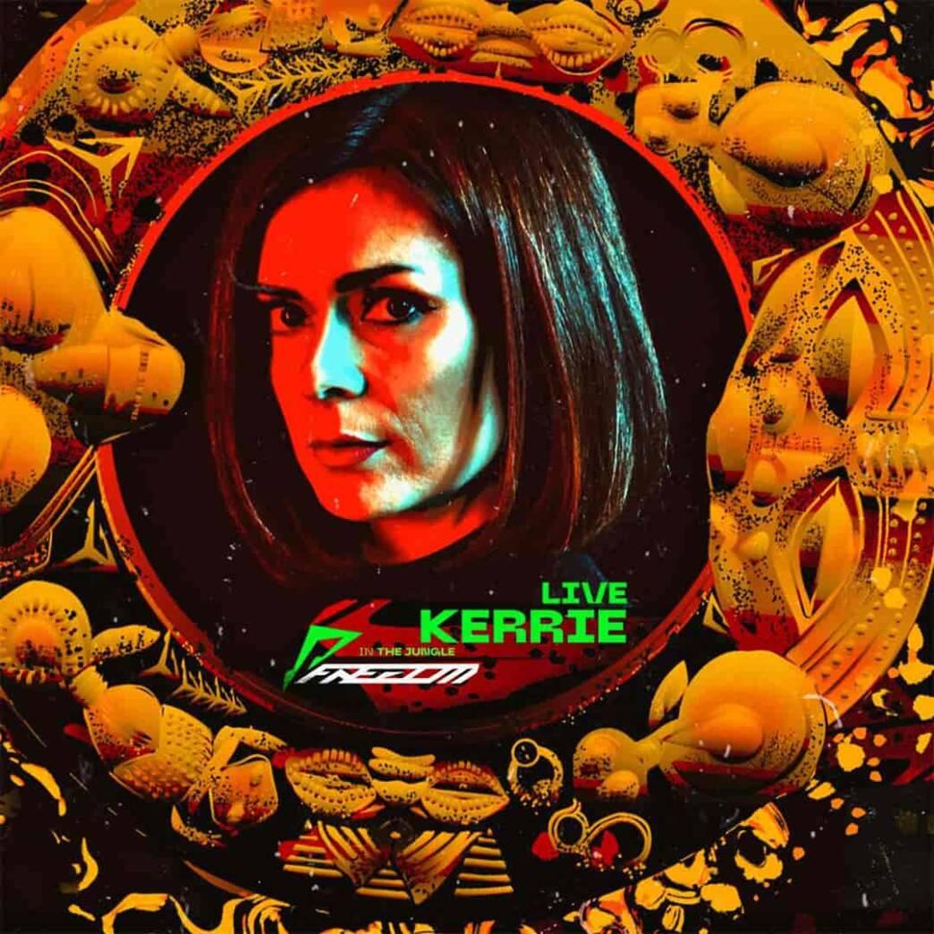 KERRIE LIVE: Electro techno poderoso, desenfrenado, análogo y artesanal en el FDM221