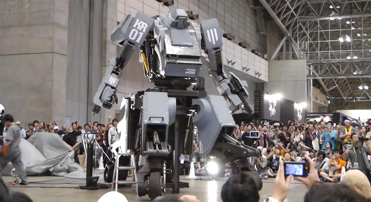 ROBOTS: Japón aceptó el reto y peleará contra Estados Unidos