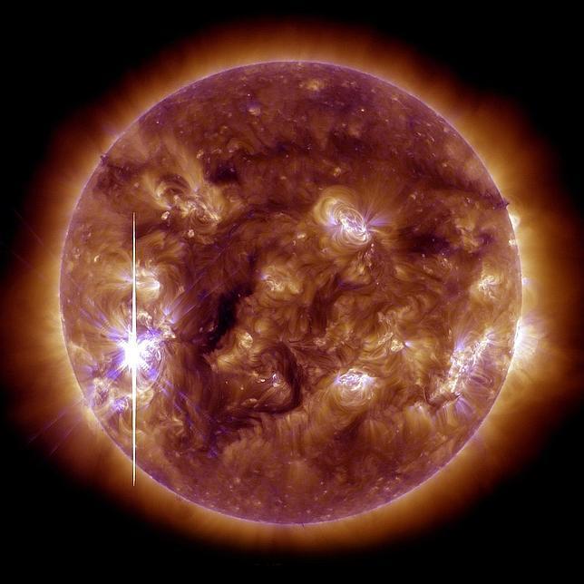 llamarada solar inversion