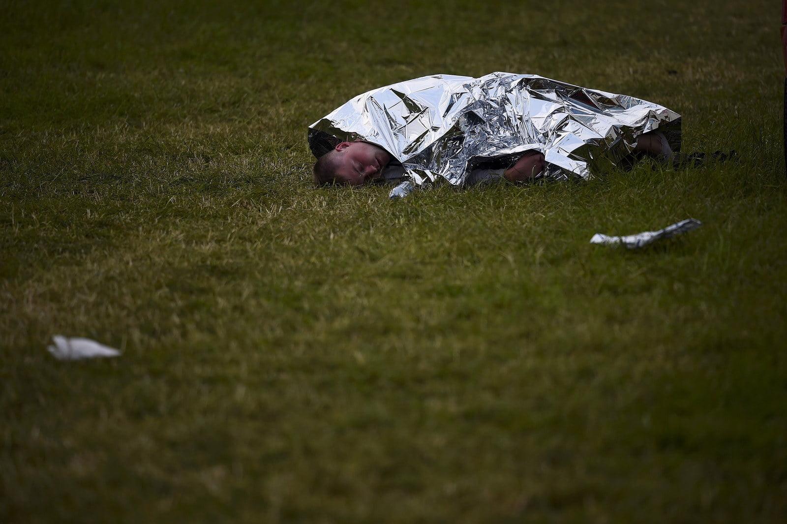 38 Fotos que capturan los tostados despues del Festival Glastonbury