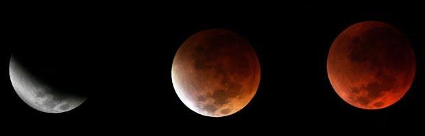 HOY al atardecer habrá eclipse total de Luna.