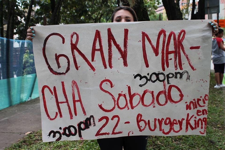 """Este Sábado Gran Marcha NO a la tala de árboles en el """"Túnel verde"""" de la Avenida El Poblado"""