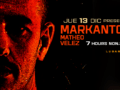 MARKANTONIO tocará 7 HOURS NON.STOP en MUTE junto a MATHEO VELEZ el 13 de Dic