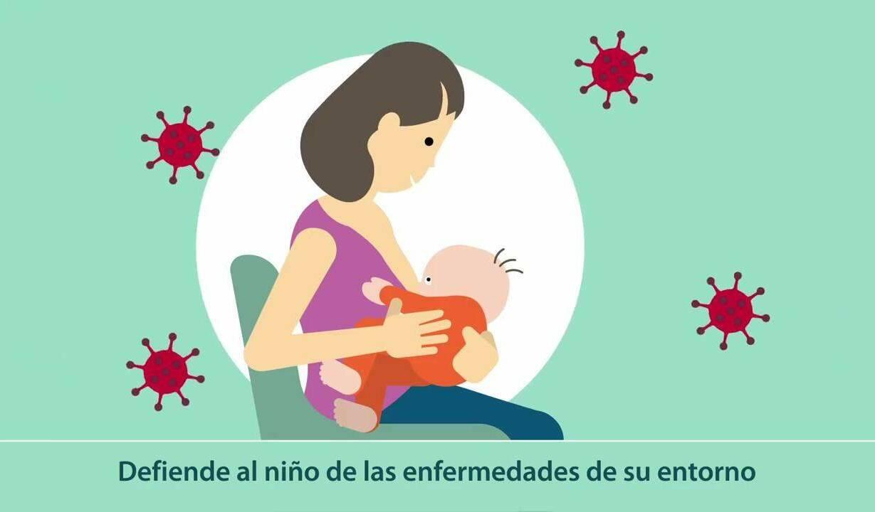Anticuerpos contra el SARS-CoV-2 detectados en la leche materna después de la vacunación