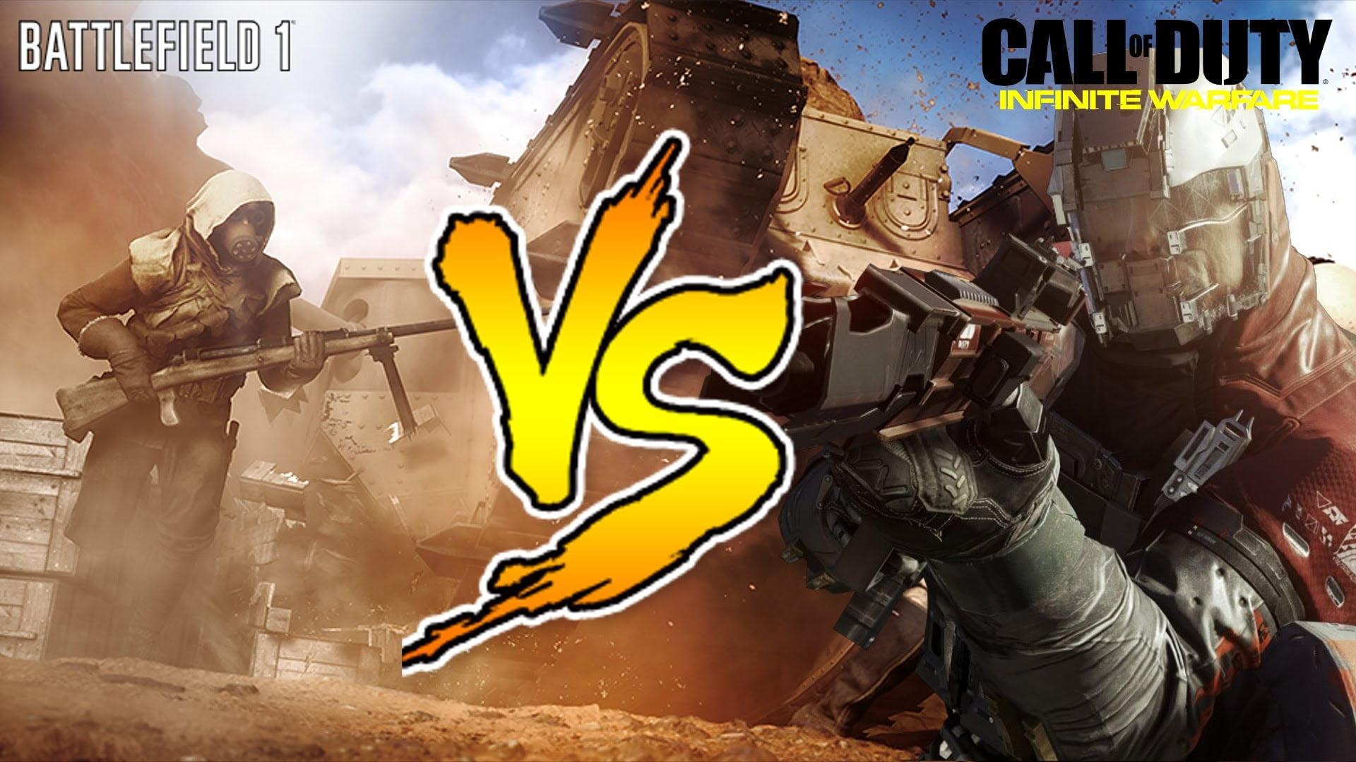 Battlefield 1 vs Call Of Duty : Infinite Warfare y DICE, el Ganador es ?