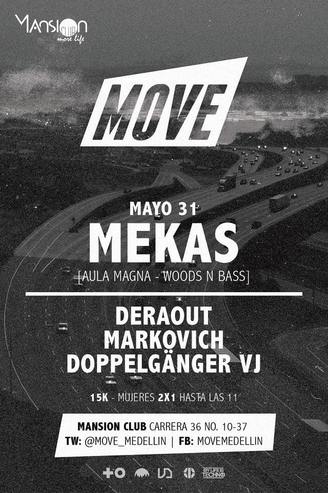 :: Sponsored :: Este viernes MEKAS [Argentina] @ Mansion Club