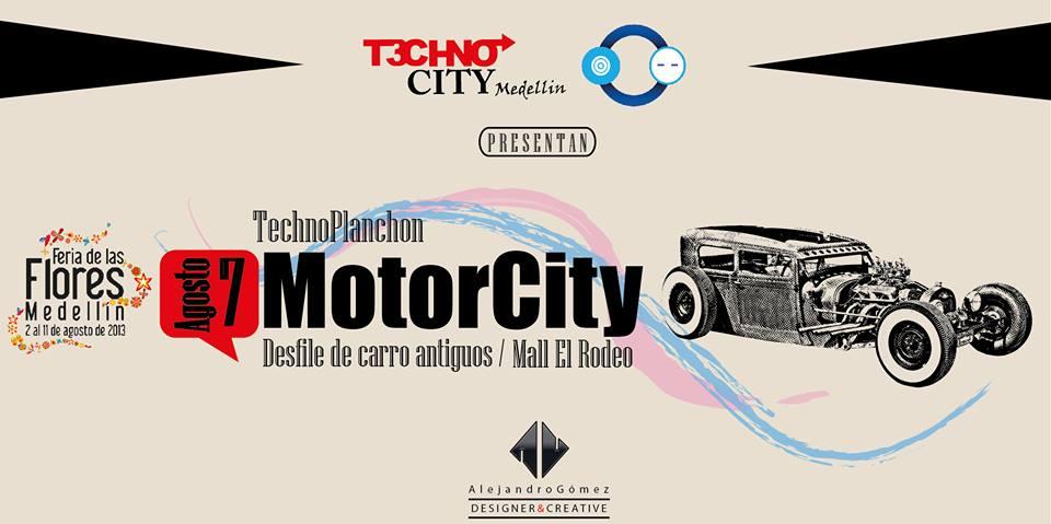 "MOTORCITY 2013 ""Technoplanchon"" Desfile de Autos Clásicos ¡¡ 7 de Agosto Miércoles festivo ¡¡"