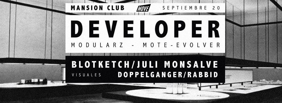 :: Sponsored :: Hoy Viernes en Mansion Club Move con Developer desde Los Angeles