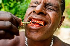 La nuez de betel es la droga más cancerígena en Nueva Guinea