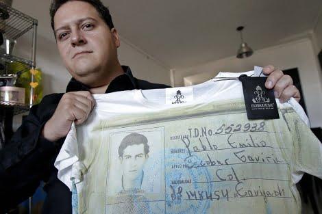 Niegan el registro de la marca Pablo Emilio Escobar Gaviria