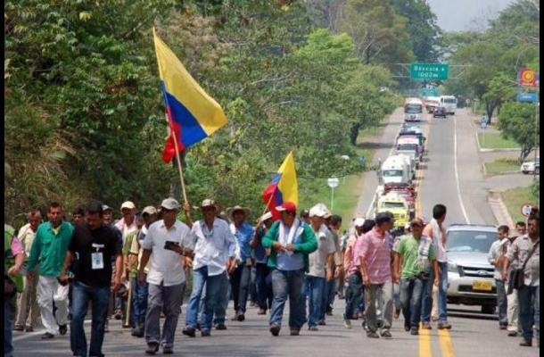 Cuarto día de paro en Colombia