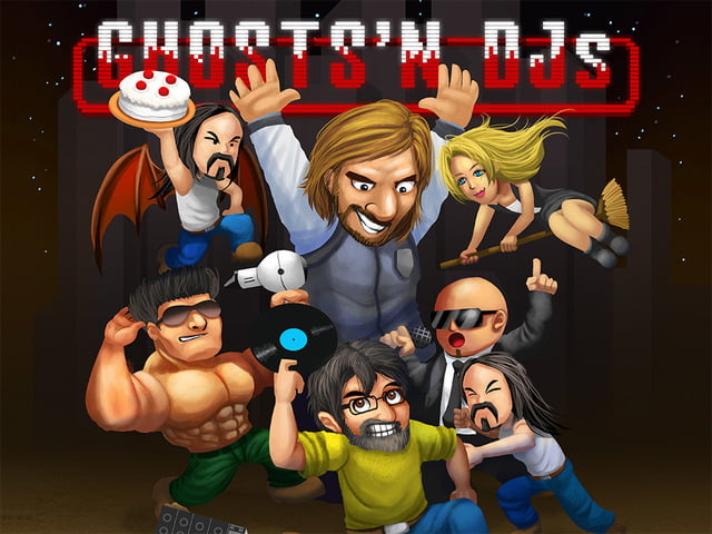 Descarga Gratis: Ghosts'n DJs, salva al mundo de la mala música.