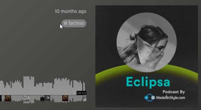 DALE PLAY a el podcast de ECLIPSA y ve preparándote para el finde