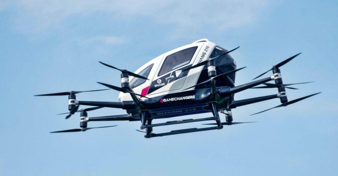 Futuros Artificiales: El transporte del mañana será el TaxiDron