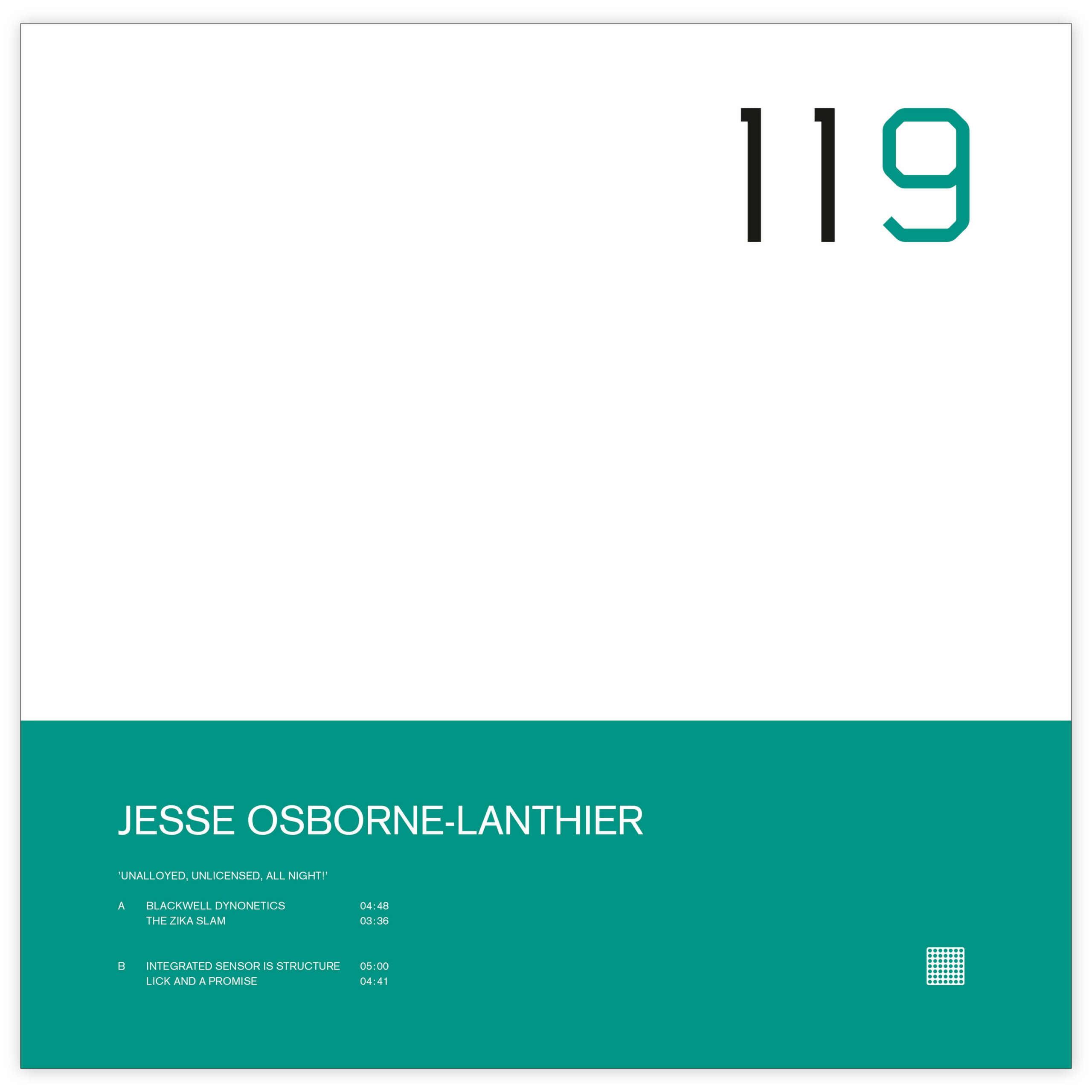Jesse Osborne-Lanthier debuta en Raster-Noton