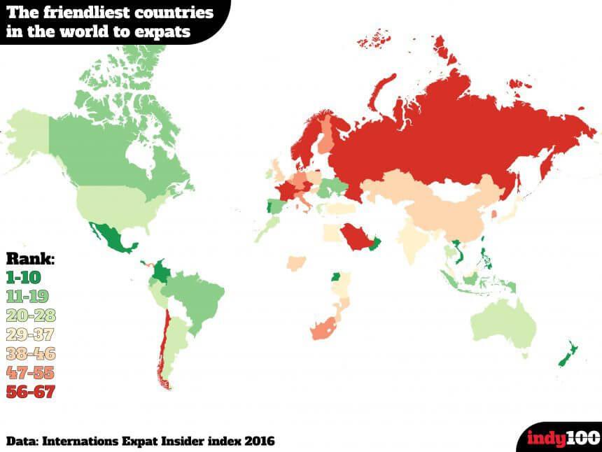 Colombia es el 5to país más Amigable del Mundo
