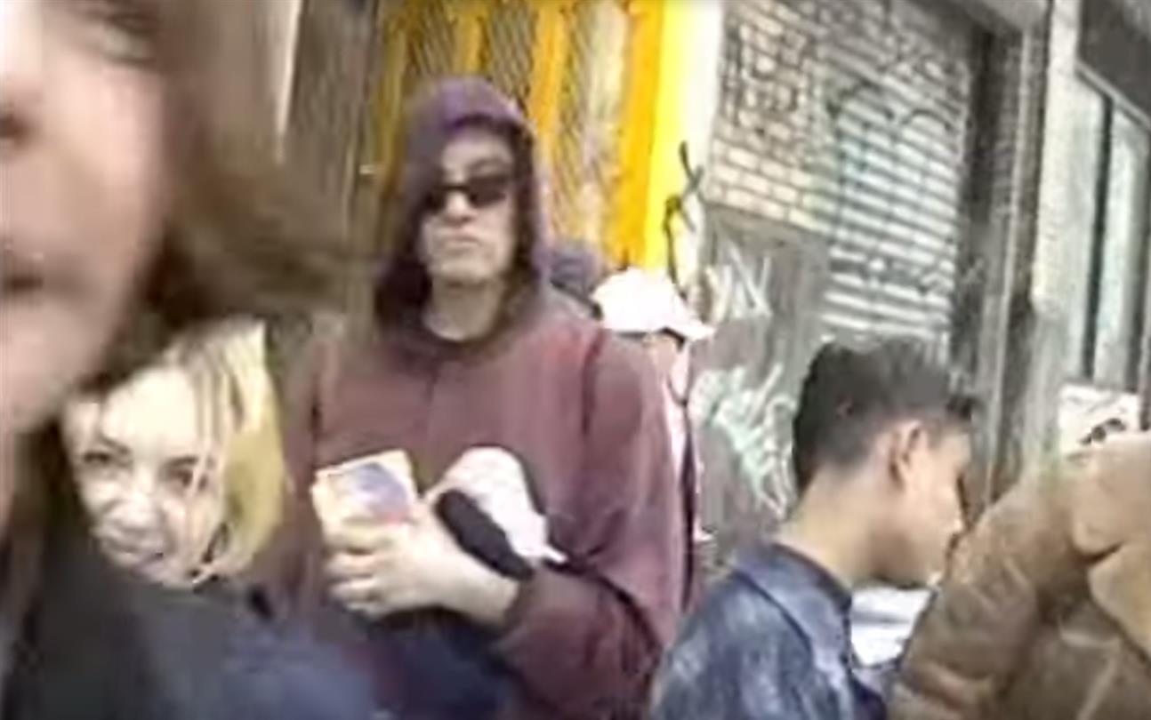 Ravers saliendo de un After a las 6AM en 1993 en New York