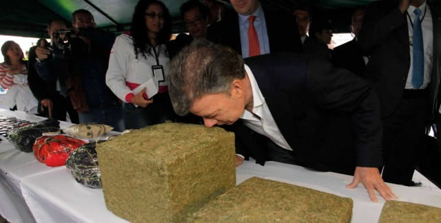 """Santos: """"¿Cómo arresto a un campesino que cultiva marihuana si es legal en EE.UU.?"""""""