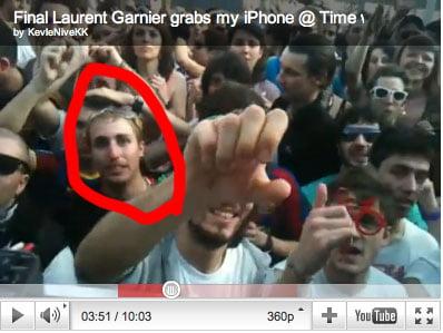 Identificado el ratero de Laurent Garnier en el Timewarp (Photos of the Garnier´s Timewarp RAT)