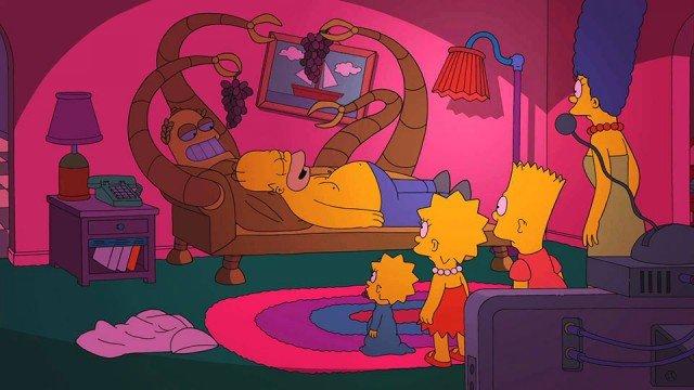 Por fin: Futurama meets The Simpsons