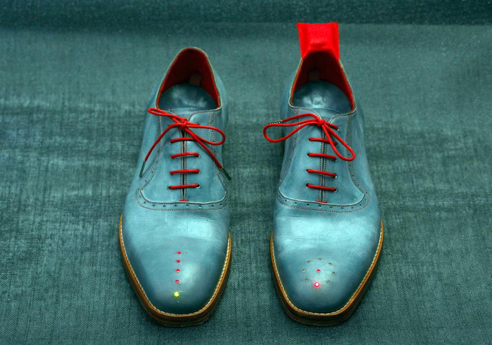 GPShoes: Ahora tus zapatos podrán indicarte a que dirección Ir