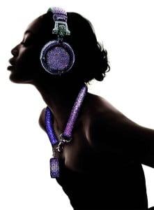 swarovski fashion rocks dj headphones 4